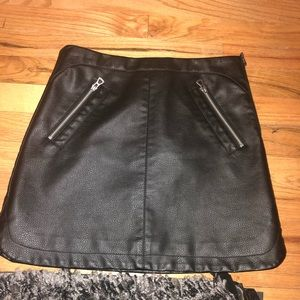 NWT faux leather skirt urban outfitters